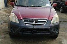 Honda CR-V 2005 Red for sale