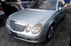 Mercedes-benz E350 2008 Silver