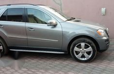 Very Clean Foreign Used Mercedes Benz ML 350 2011 Silver For Sale