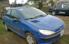 Clean Peugeot 206 1999 Blue For Sale
