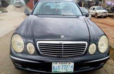 Neatly Used Mercedes-Benz E240 2006 Black