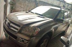 Registered Mercedes Benz Gl550 2007 Silver for sale