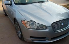 Clean Jaguar XF 2009 Silver for sale