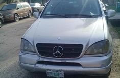 Non Negotiable Mercedes-benz ML320 2002 Gray