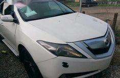 Used Acrura ZDX 2010 White For Sale