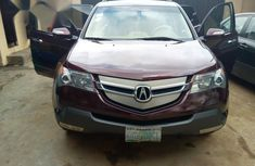 Nigerian Used Acura MDX 2008 Red