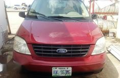 Clean Ford Freestar 2007 Red for sale