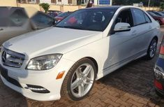 Mercedes Benz C350 2009 White for sale