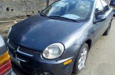 Neatly Used Dodge Neon 2004 Gray