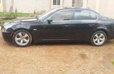 Clean BMW 530i 2008 Black for sale