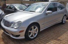 Mercedes Benz C230 2007 Silver for sale