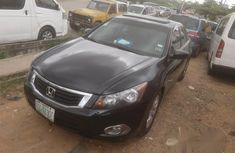 Nigerian Used Honda Accord 2009 Black For Sale