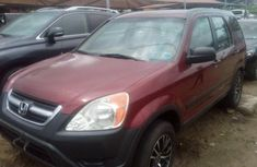 Honda CR-V 2003 Petrol Automatic Red