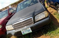 Mercedes Benz C200 2002 Gray for sale