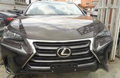 Clean Lexus Nx200t 2016 Black for sale