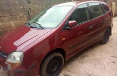 Neat And Clean Nissan Almera Tino 2002 Red