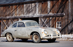 This rusty unmovable 60-year-old Porsche fetches N260m in the US