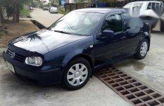 Clean Used Volkswagen Golf 4 2003 Blue