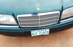 Mercedes-Benz 220 2002 Green for sale