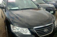 Registered Hyundai Sonata 2010 Black