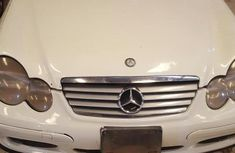Mercedes-benz 200 2002 White for sale