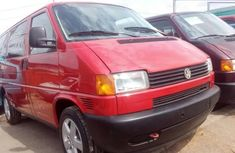 Volkswagen Transporter 2001 Petrol Manual Red