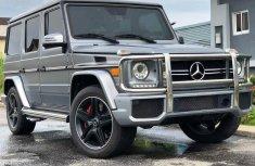 Mercedes-Benz G63 2015 Petrol Automatic Grey/Silver