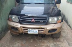 Mitsubishi Montero 2002 Black for sale