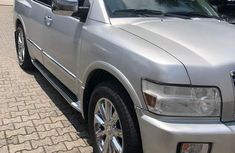 Very Clean Infiniti Qx56 2008 Silver for sale