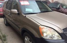 Neat Honda CR-V 2005 Gold for sale