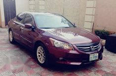 Clean Honda Accord 2008 Upgraded To 2011 Red