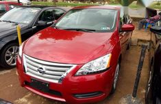 Nissan Sentra SV 2014 Red for sale