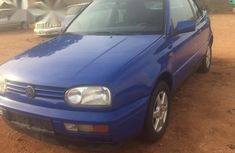 Volkswagen Golf Convertible 2000 Blue