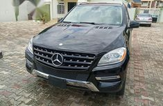 Mercedes-benz Ml350 2014 Black for sale