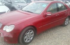 Mercedes Benz C280 2006 Red For Sale