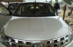 Clean Nissan Murano 2004 White for sale