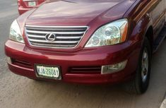 Lexus GX470 2008 Red for sale