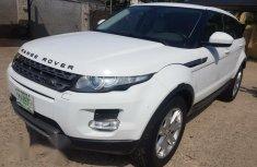 Range Rover Evoque 2012 White for sale