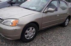 Honda Civic 2003 Gold for sale