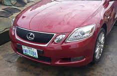 Clean Lexus Gs350 2007 Red