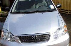 Toyota Corolla Sport 2008 Silver for sale