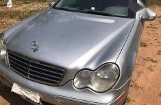 Clean Mercedes Benz C230 2007 Silver