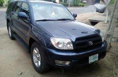 Nigeria Used Toyota 4runner 2005 Blue