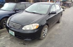 Used Toyota Corolla 2004 Black
