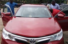 New Toyota Camry 2012 Red for sale