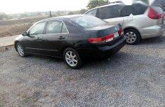 Clean Honda Accord 2003 Black for sale