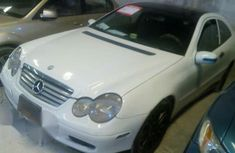 Mercedes Benz C250 2002 White For Sale