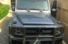 Clean Mercedes-Benz G63 2013 Gray for sale