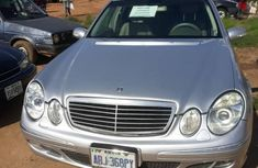 Mercedes Benz E320 2006 Silver