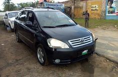 Clean Toyota Avensis 2006 Black for sale